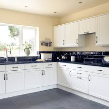black and white tile kitchen ideas kitchen and decor