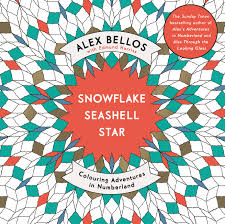 snowflake seashell star colouring adventures in numberland by