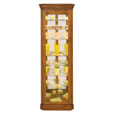 corner curio cabinet