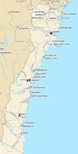Map Of East Coast States Illawarra South Coast Region Ses Stormsafe