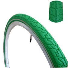 chambre a air 700x38c pneu vert pour vélo 28 pouces avec protection anti crevaison