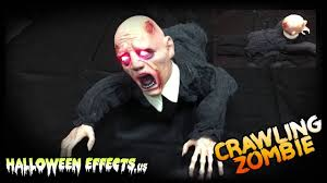 animated halloween decoration crawling zombie animated halloween decoration youtube