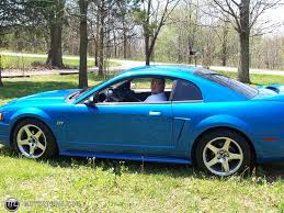 2000 blue mustang 2000 ford mustang gt id 4953