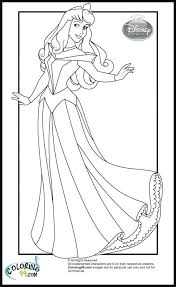 coloring pages princess aurora coloring pages download