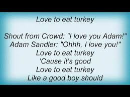 adam sandler thanksgiving song lyrics songs mp3