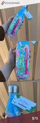 lilly pulitzer x starbucks swell bottle brand new nwt