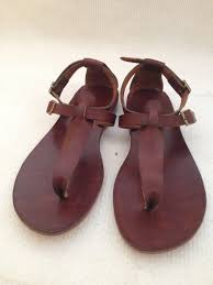 feronia classic comfortable handmade leather sandals custom size