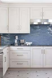 Best Backsplash Ideas Images On Pinterest Dream Kitchens - Blue tile backsplash kitchen