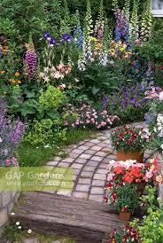 Cottage Garden Design Ideas Garden Design Gap Gardens Path Through Lush Border And Container