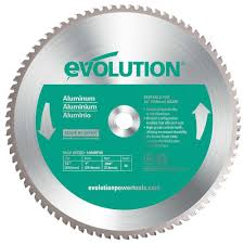 Circular Saw Blade For Laminate Flooring Evolution Power Tools 12 In 80 Teeth Aluminum Cutting Saw Blade