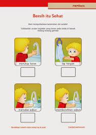 cara membuat poster untuk anak sd belajar membaca untuk sd kelas 1 belajar kebersihan pribadi untuk