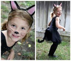 Kids Halloween Cat Costume Easy Black Cat Costume Idea Halloween Halloween Https