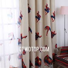 Kid Blackout Curtains Or Boys Bedroom Blackout Best Cheap Beige Spiderman Curtains