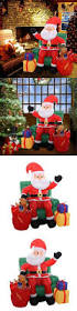 Inflatable Christmas Decorations Outdoor Cheap - 6 u0027 clear lighted outdoor spiral christmas tree yard art decoration