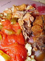recette de cuisine midi en rouelle de porc mijotée à la provençale la cuisine d angelle