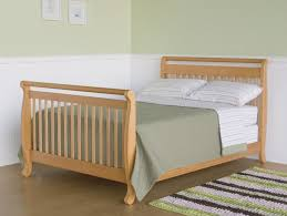 Oak Convertible Crib This Story Size Bed Rails For Convertible Crib