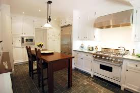 eat in kitchen islands beautiful mosaic tiles backsplash black