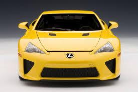 lexus lfa james edition zt u0027s dream garage autoart lexus lfa in yellow