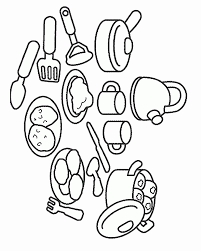 printable cooking coloring pages for kids cooking coloring pages