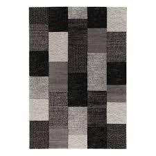 tappeti offerta on line tappeto textures nero grigio 200 x 300 cm prezzi e offerte