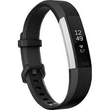 www large fitbit alta hr activity tracker black large jb hi fi