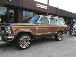 1960 jeep wagoneer hipster suv 1988 jeep grand wagoneer car of the day by carchasers