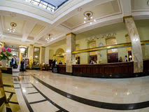 Lobby Reception Desk Metropol Hotel Lobby And Reception Desk In Moscow Russia