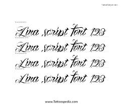 tattoo lettering designer calligraphy 1