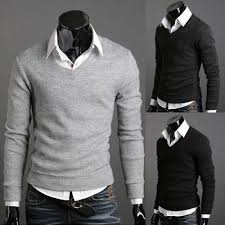 v neck sweater s v neck sweater mens fashion sweaters fitted sweater casual