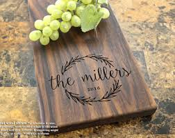 engraved cheese board personalized cheese board etsy