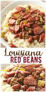 cuisine of louisiana louisiana beans and rice simple recipes