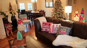 Decoration For Christmas House decorating for christmas christmas living room tour youtube