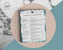 resume templates that stand out resume templates archives stand out shop laurel stonebridge resume template vol i