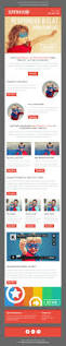 superheroo responsive email newsletter template mailchimp