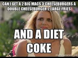 Fat People Meme - why fat people order diet coke at mcdonald s youtube