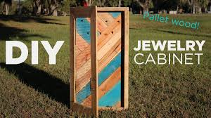 Jewellery Organiser Cabinet Diy Jewelry Wall Organizer And Display Mike And Lauren Youtube