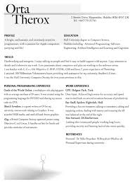 Programming Resume Examples by Interviewing Applying And Getting Your First Job In Ios Artsy