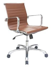 brown leather armless desk chair brown leather desk chair brown leather office desk chairs