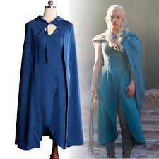 Daenerys Targaryen Costume Aliexpress Com Buy Game Of Thrones Daenerys Targaryen Cosplay