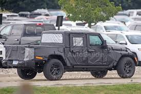 lamborghini humvee spy photos reveal more about jeep wrangler pickup autoguide com news