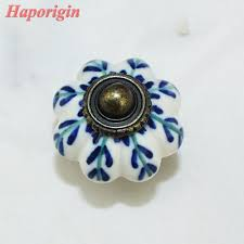 online shop 2pcs kitchen cabinet drawer knobs rustic ceramic knobs