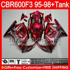 1996 Cbr 600 8 Gifts For Honda Cbr600f3 95 96 97 98 Cbr600rr Fs 2hm5 Dark Red
