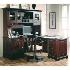 Office Desk Workstation by Office Design Riverside Urban Crossings L Shaped Desk With Hutch