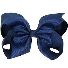 big bows for hair anjali navy big bow hair clip non slip hair pretty