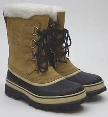 s sorel caribou boots 40 degrees buff size 9 nm1000 281