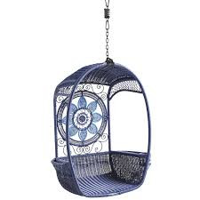 Swingasan Cushion by Swingasan Blue Medallion Hanging Chair Pier 1 Imports Room