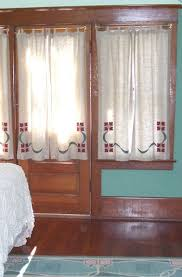 Arts And Crafts Style Curtains Simple Craftsman Window Coverings My Style Pinboard