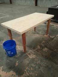 refinishing a butcherblock table atc 20140308 154525