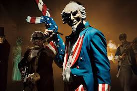 halloween purge the purge election year tries to make us confront the gun loving