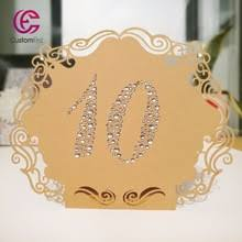 Laser Cut Table Numbers Compare Prices On Table Number Designs Online Shopping Buy Low